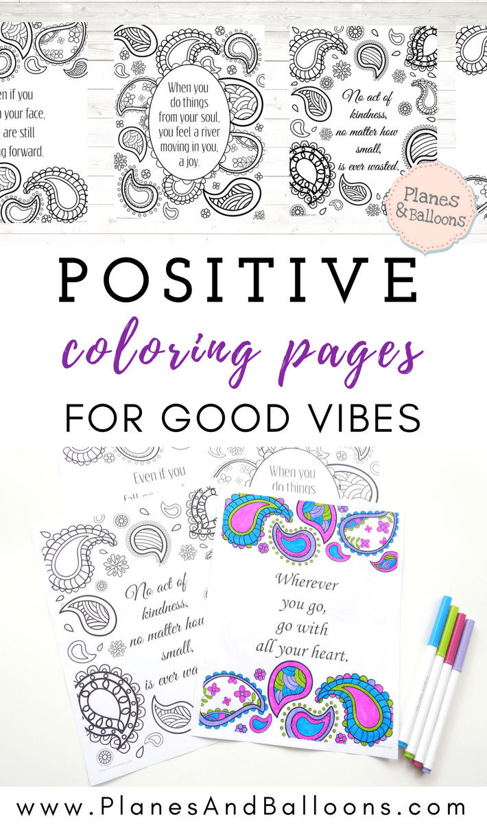 Positive Quotes Coloring Pages To Keep The Good Vibes Flowing Quote Coloring Pages Coloring Pages Abstract Coloring Pages