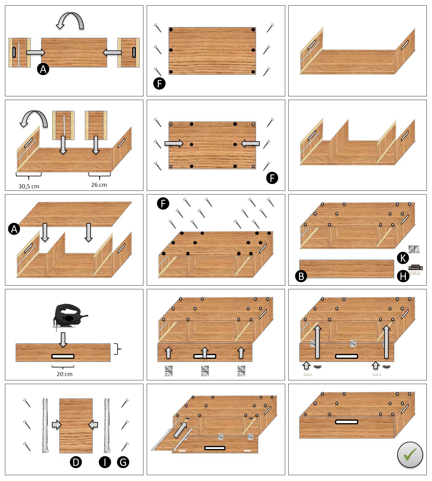 DIY Bauanleitung Die clevere und preiswerte Campingbox