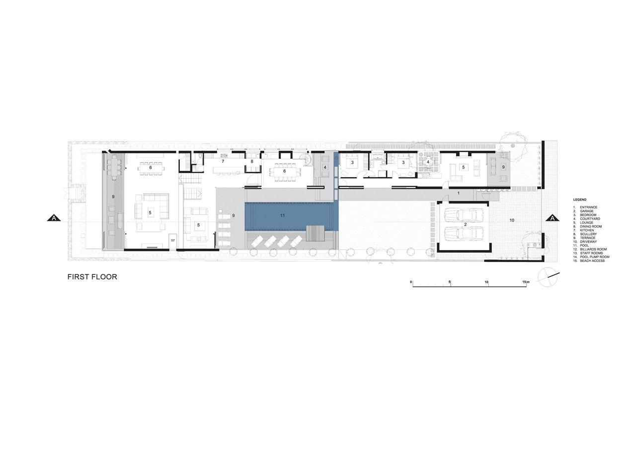 Gallery Of Voelklip Saota 12 Modern Beach House House Plans South Africa Beach House Design