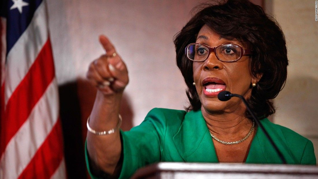 It lasted all of 30 seconds. Rep. Maxine Waters was at the podium to explain just what she thought of FBI Director James Comey after a briefing on the Russia investigation.