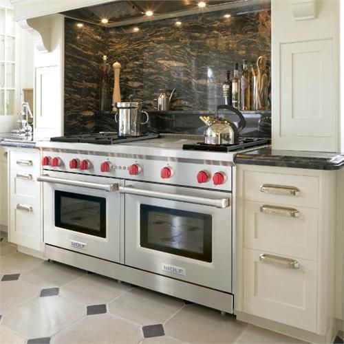 Contemporary Range From Wolf, Model: 6 Burners, French Top
