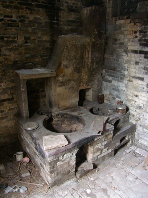 Ancient Built In Wok Stove Chyna In 2019 Asian Kitchen