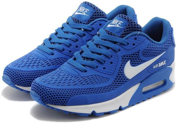 Nike Air Max 90 Essential Royal Blue White Men Women | Nike ...