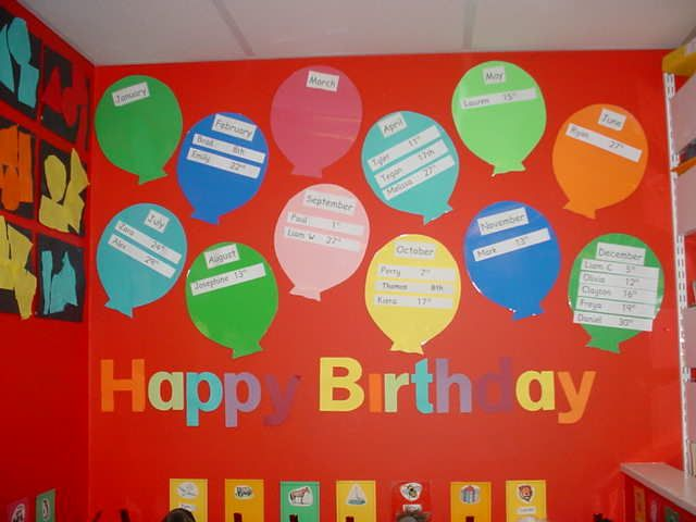 Best 25 Preschool Birthday Board Ideas On Pinterest