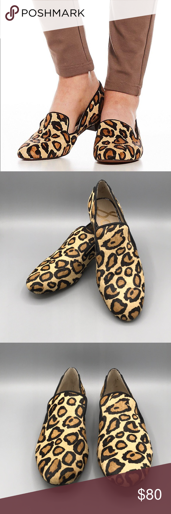 f267a073aec NWOT Sam Edelman  Jordy  Loafer Sam Edelman  Jordy  Loafer. Authentic calf  hair. 1-inch heel. Leather soles. Padded insoles. In new condition - no  damage or ...