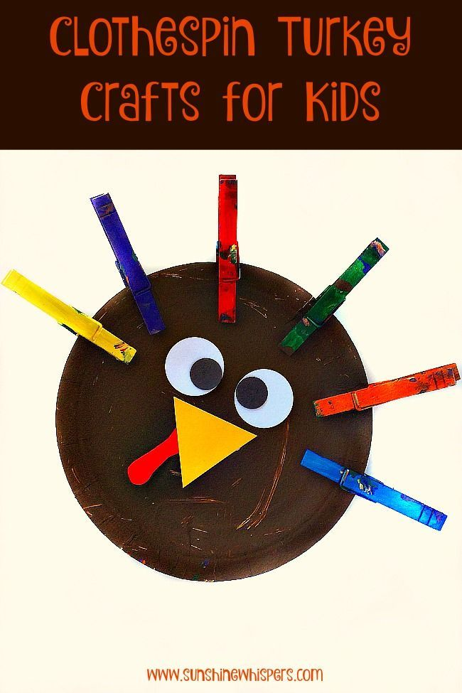 49++ Turkey craft with clothespins inspirations