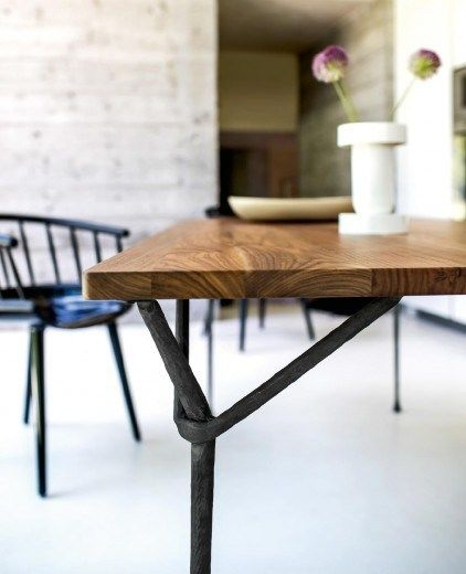 Officina Ash Table Officina Collection By Magis Design Ronan Erwan Bouroullec Dining Table Design Steel Table Rectangular Table