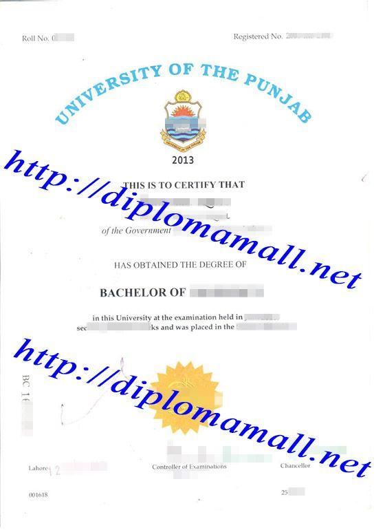 The University Of The Punjab Degree Buy Degree Buy Masters Degree Buy Bachelor Degree Fake Diploma Where To Buy Masters Degree Bachelors Degree University