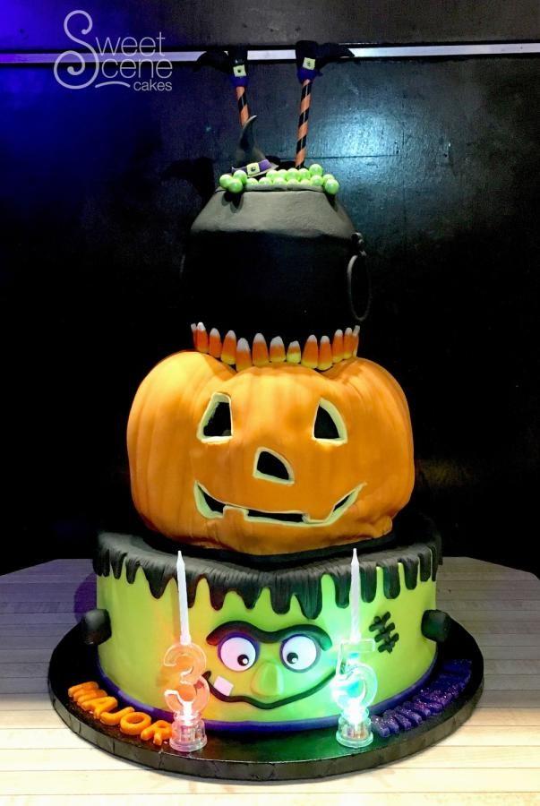 It\u0027s Halloween! - Cake by Sweet Scene Cakes Halloween CakesSugar - decorating halloween cakes