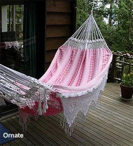 ornate brazilian hammock with crocheted fringes and ends ornate brazilian hammock with crocheted fringes and ends   crochet      rh   pinterest