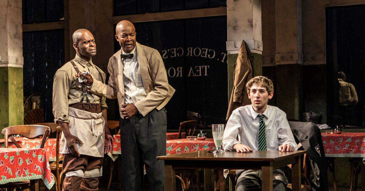 """Theater Review: """"Master Harold""""…and the boys  -- Vulture"""