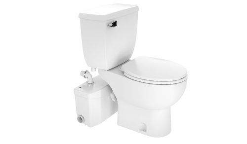 Saniflo Saniplus Macerating Upflush Toilet Kit With Standard