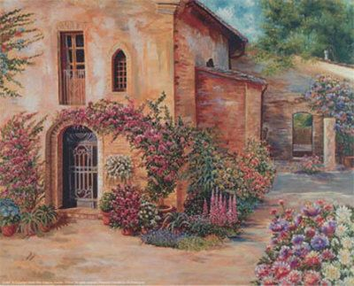 Terrace & Courtyard Gardens Decorative Art, Posters and Prints at Art.com (cathy grouix)