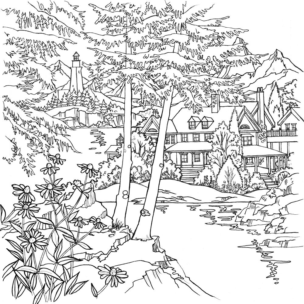Check out what Debbie Macomber's new coloring book, 'The