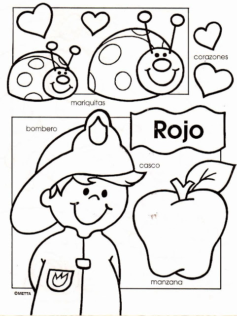 good for pre-k | Spanish Resources | Pinterest | Dibujos infantiles ...