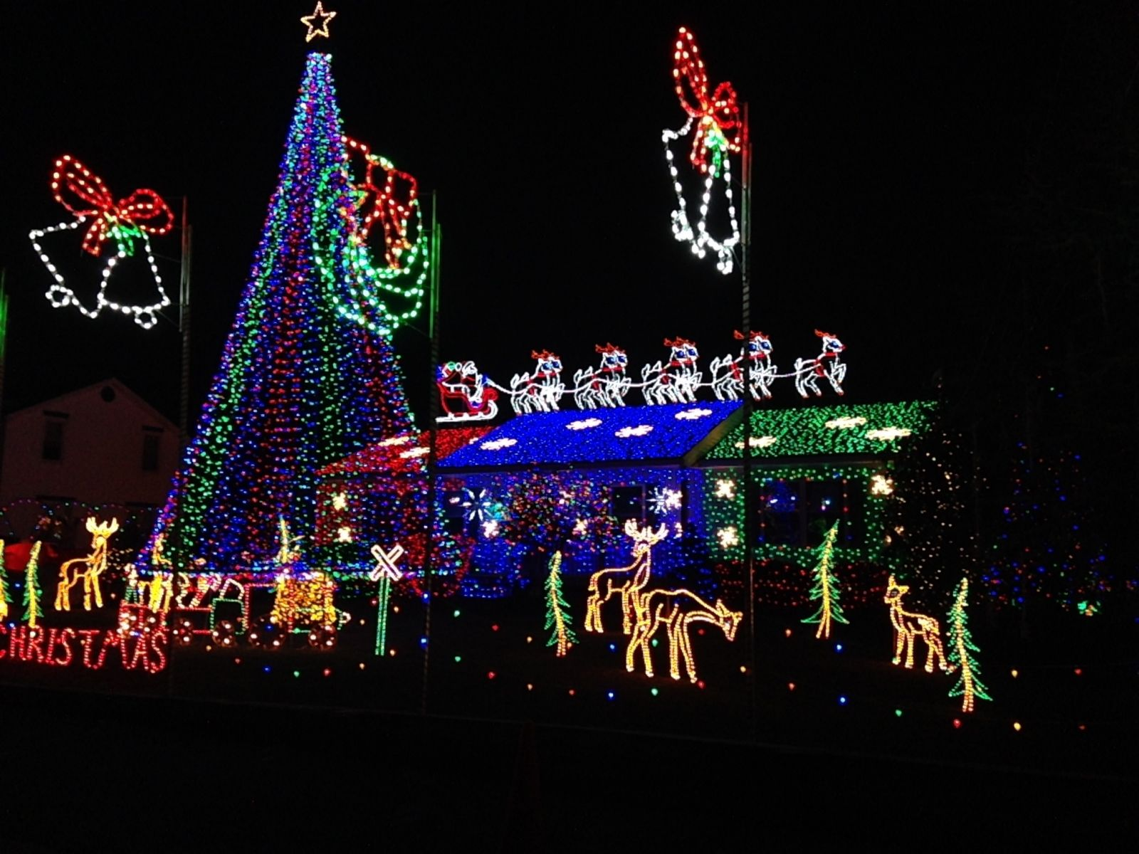 the best free christmas lights in nj - Outdoor Christmas Decorations Nj