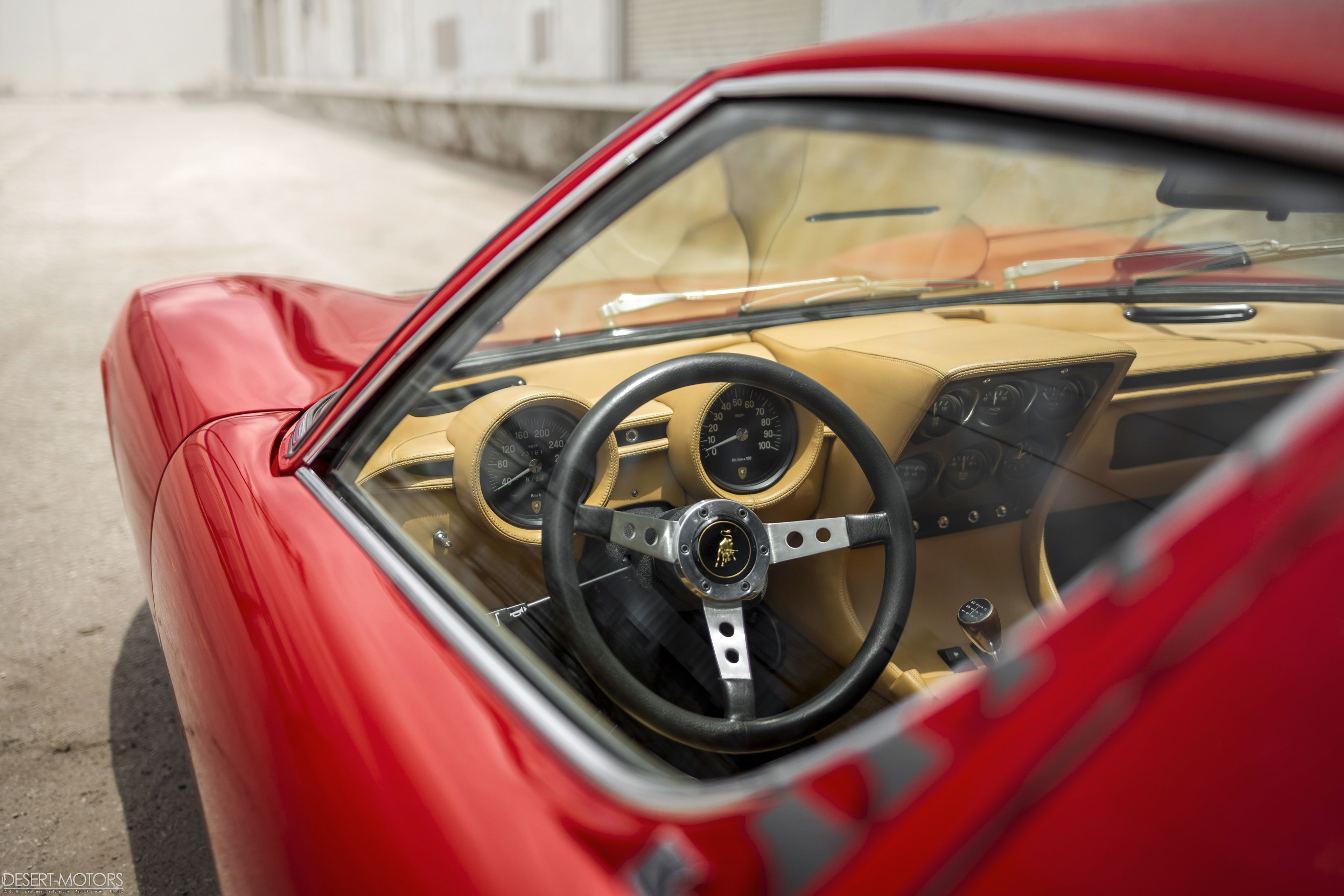 A Place Id Happily Spend A Lot Of Time Miura P SV OC OS - Classic car lots near me