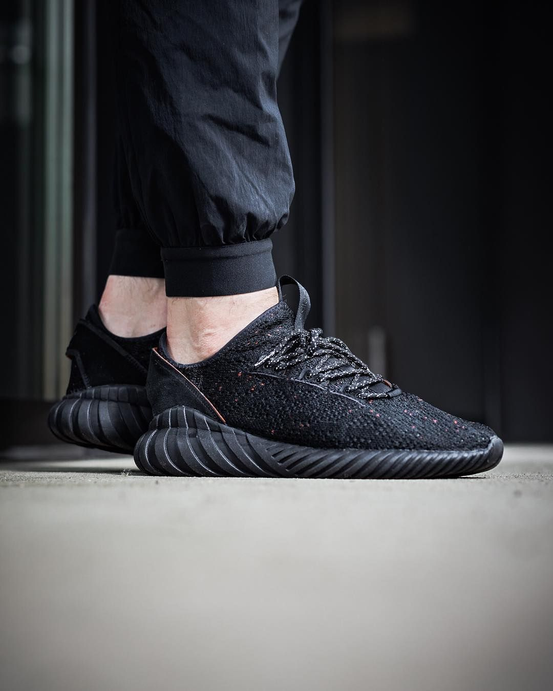 Adidas Tubular Doom Sock Primeknit Pirate Black With Images
