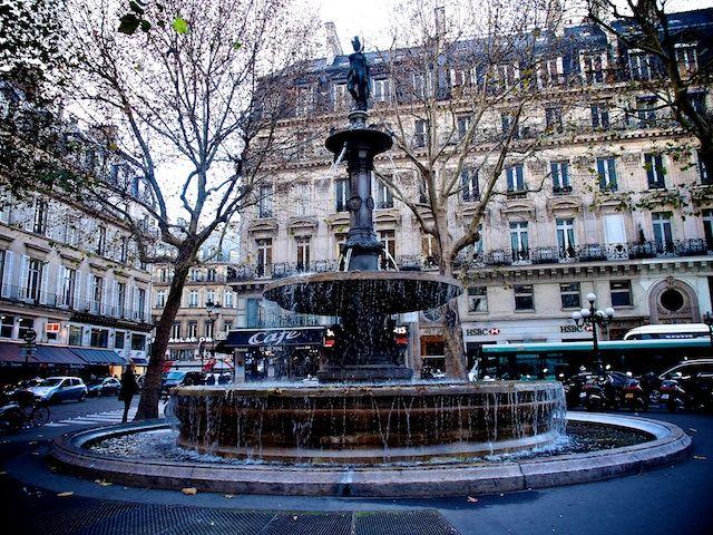 View from Cafe Nemours  Paris, The Palais Royal - Vicki Archer