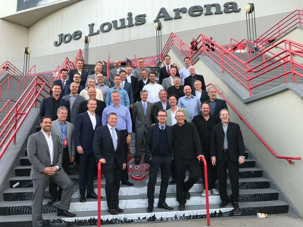 Farewell to the Joe. Former players. Detroit red wings