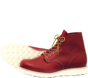 Gosh, I love the colour. If only they have a chukka in this red.