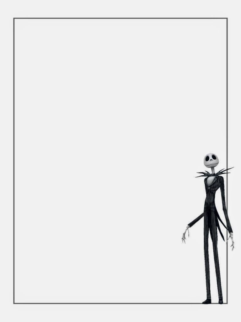 Jack Skellington Free Printable Notebook. | Nightmare Before ...