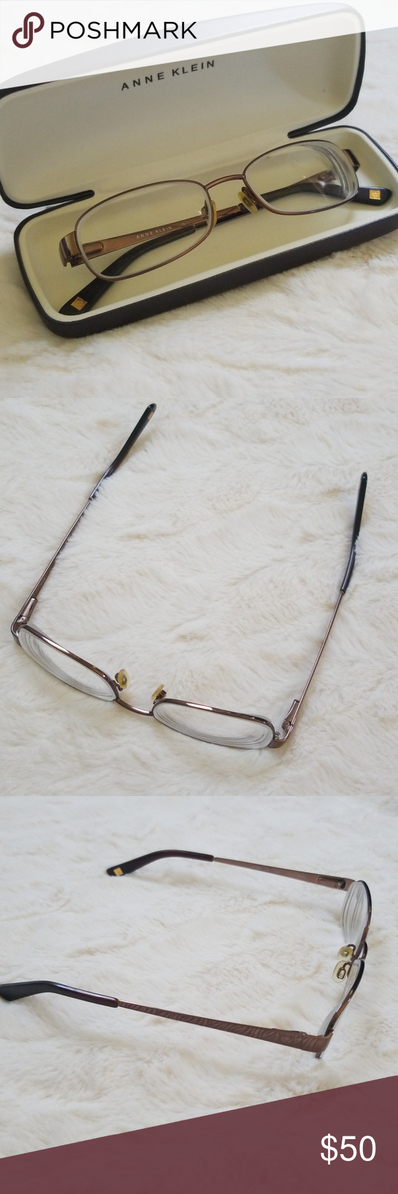 Anne Klein Glasses / Frames   Sprung hinges, Glass and Choices