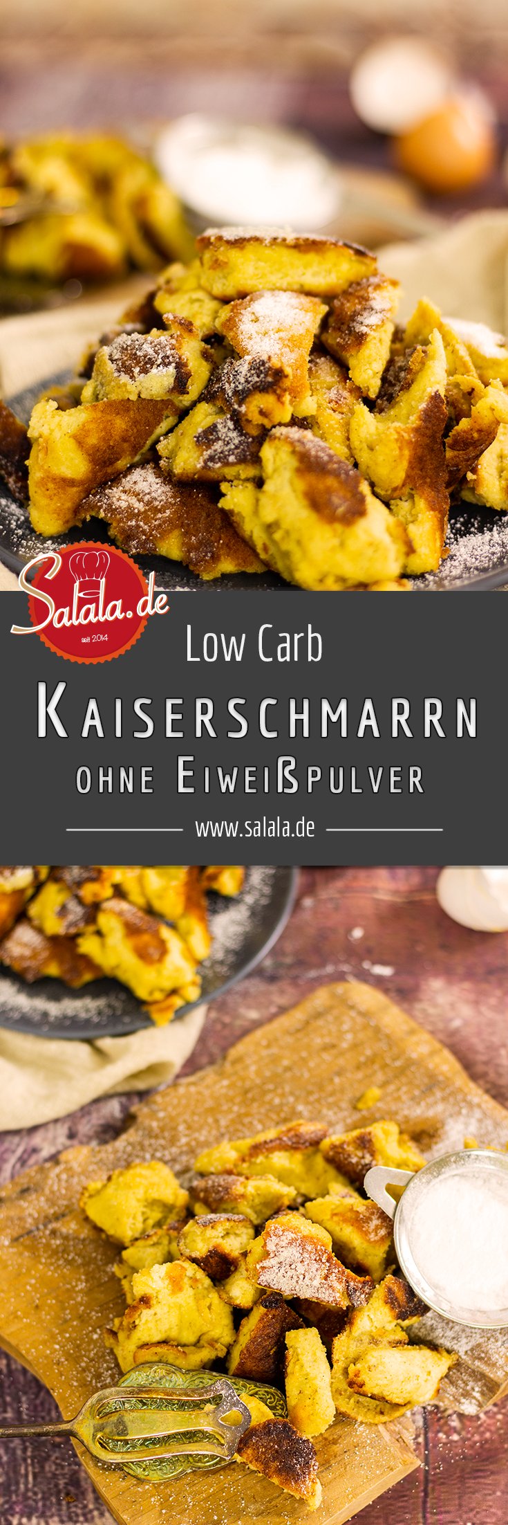 Photo of Kaiserschmarrn without flour | salala.de – Low carb made easy