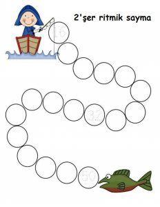 2şer Ritmik Sayma Etkinlikleri 3 Evimin Altın Topu Matemetik
