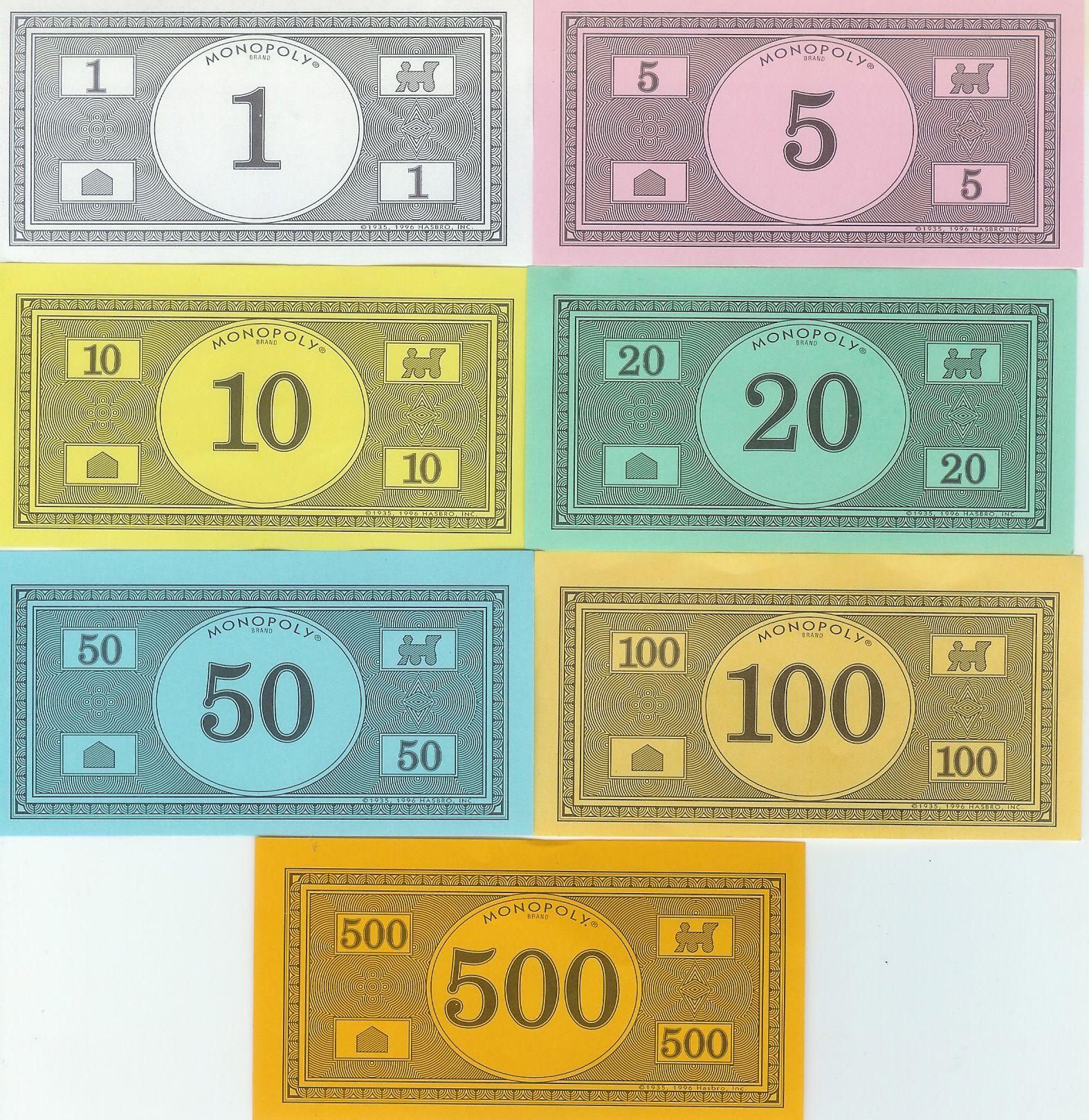 monopoly money templates free invitation templates library ideas