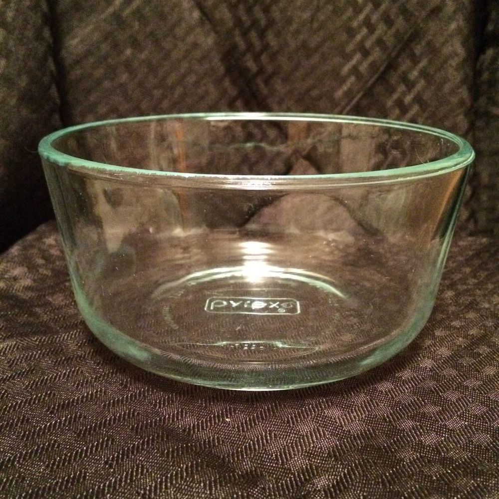 Pyrex Clear Gl Bowl Mixing Stacking Microwave Safe 1 Quart Preowned Usa