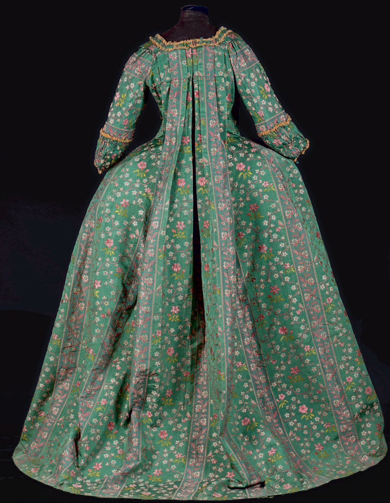 655d72aaef6 Ball gown ca. Robe à la française ca. 1760 Fripperies and Fobs