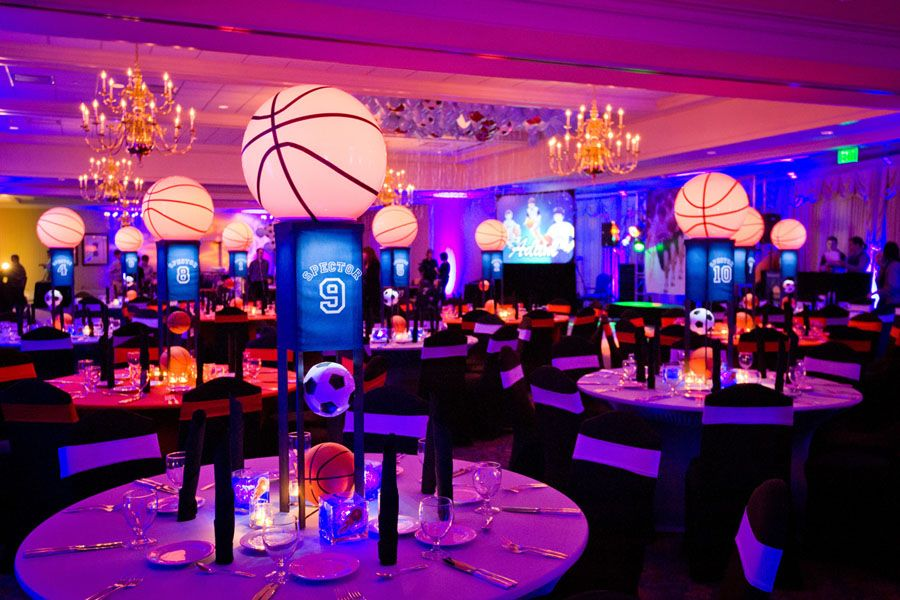 Basketball And Soccer Themed Bar Mitzvah Bar Mitzvah