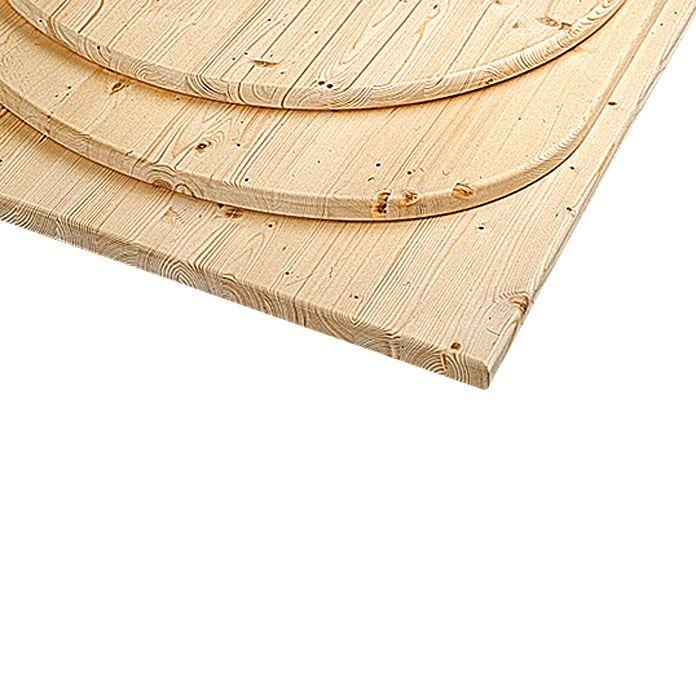 Tischplatte 120 X 80 X 2 8 Cm Fichte Rechteckig Tischplatten Tischplatte Rund Bauhaus