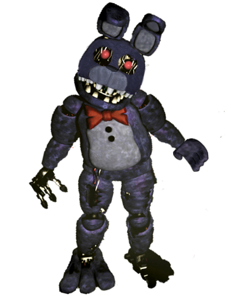 Withered Bonnie Party Room 1 With Face And Left Arm 1987