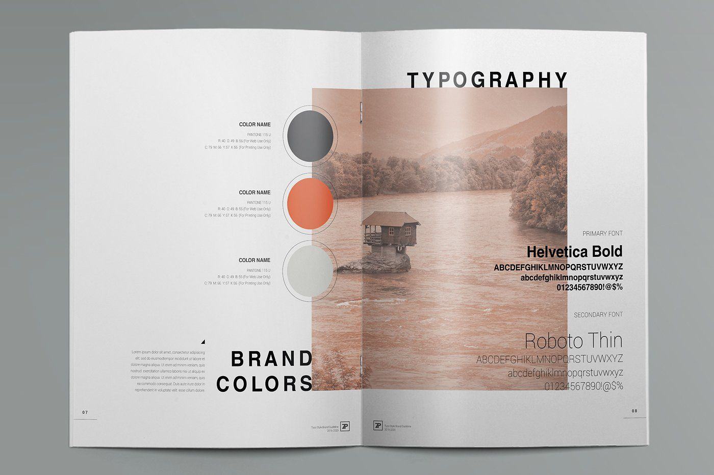 The Muse Brand Guide Template Brand Guidelines Template Brand Guidelines Guideline Template