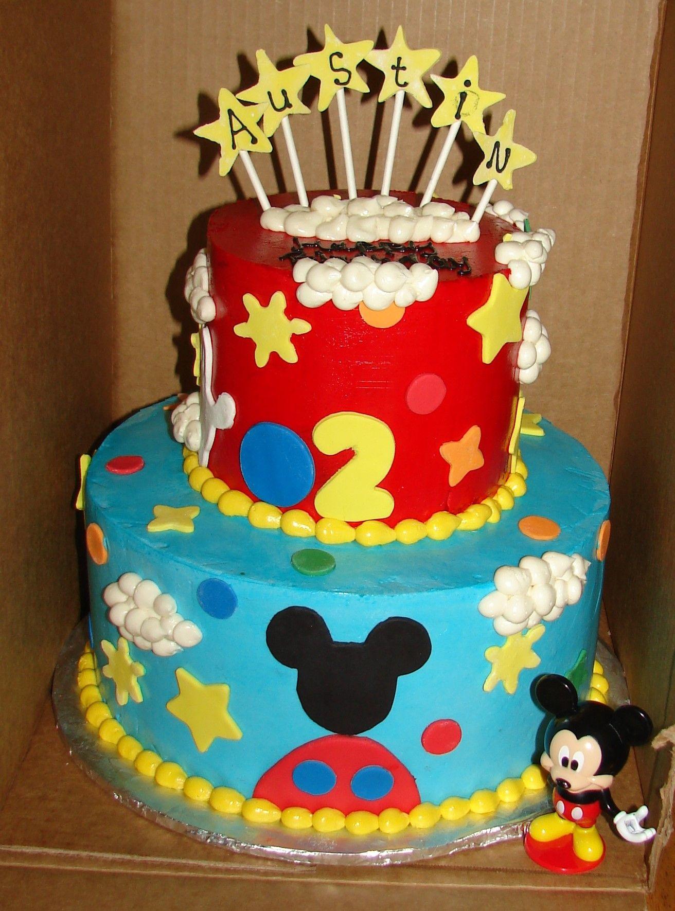Stupendous Birthday Cake For Mickey Mouse Theme Birthday Party Mickey Mouse Funny Birthday Cards Online Unhofree Goldxyz