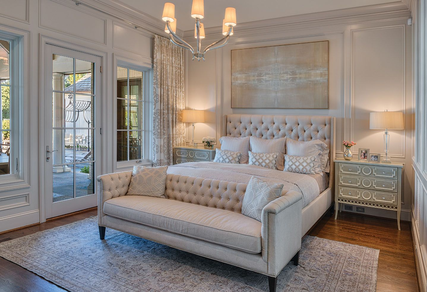 The New French Country   Master Bedroom  Manor Born U2013 Carolina Home + Garden  Magazine