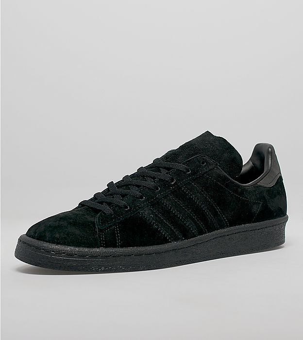 wholesale dealer 087ed 91578 adidas Originals Campus 80s Black Suede