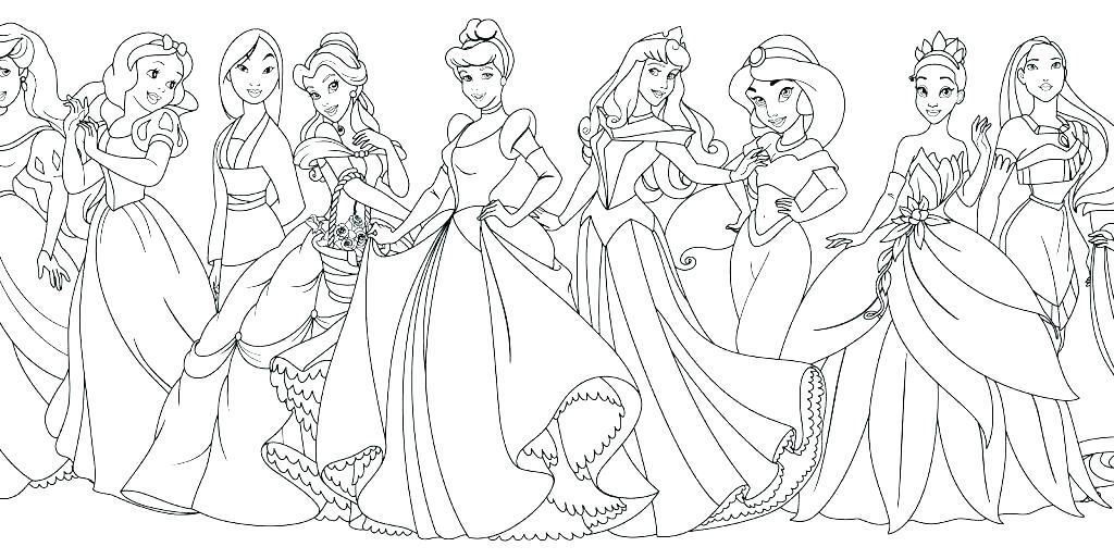 Cute Disney Princess Coloring Pages For Girls - Free Coloring Sheets Princess  Coloring Pages, Disney Princess Coloring Pages, Princess Coloring