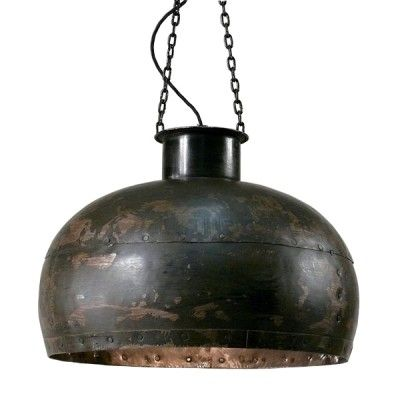 Kesselmacher Lampe Shabby Rustikal