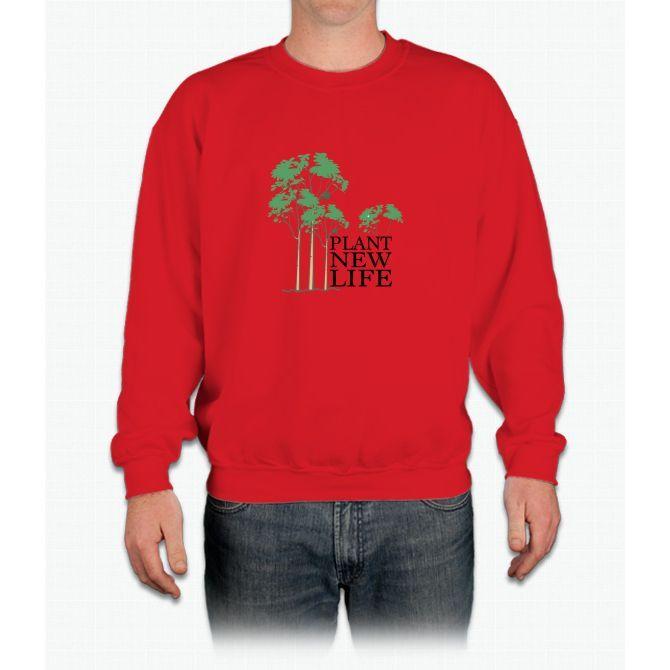 Plant New Life Crewneck Sweatshirt