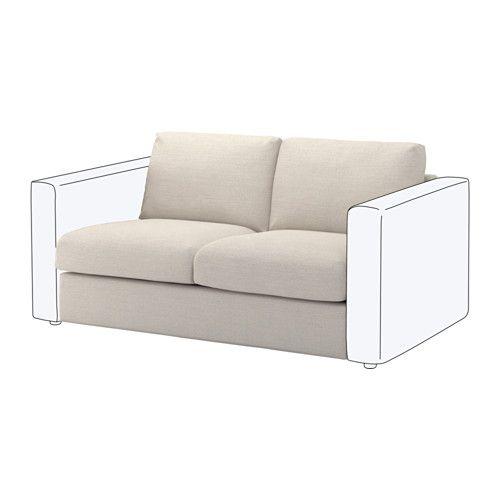 Astonishing Vimle Loveseat Section Gunnared Beige Organize Home Inzonedesignstudio Interior Chair Design Inzonedesignstudiocom