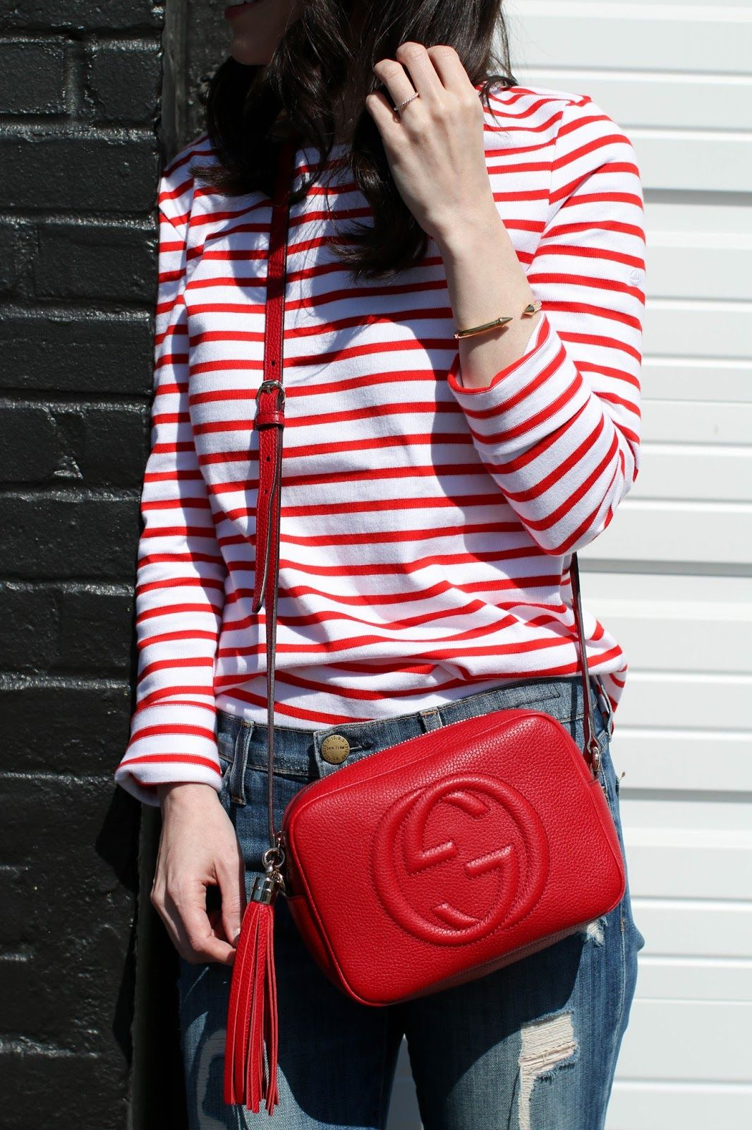 9e9b18486974 Gucci Red Disco Bag