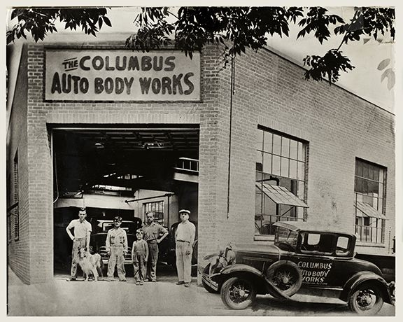 Kingston Car Dealerships >> Pin by Jim Johnson on Old School Body Shops | Pinterest | Auto body repair, Cars and Collision ...