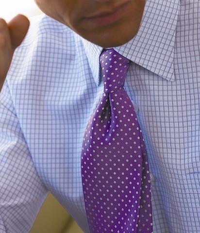 Pink Check Formal Dress Shirt Blue Italian Fleur-De-lis Designer Business Style