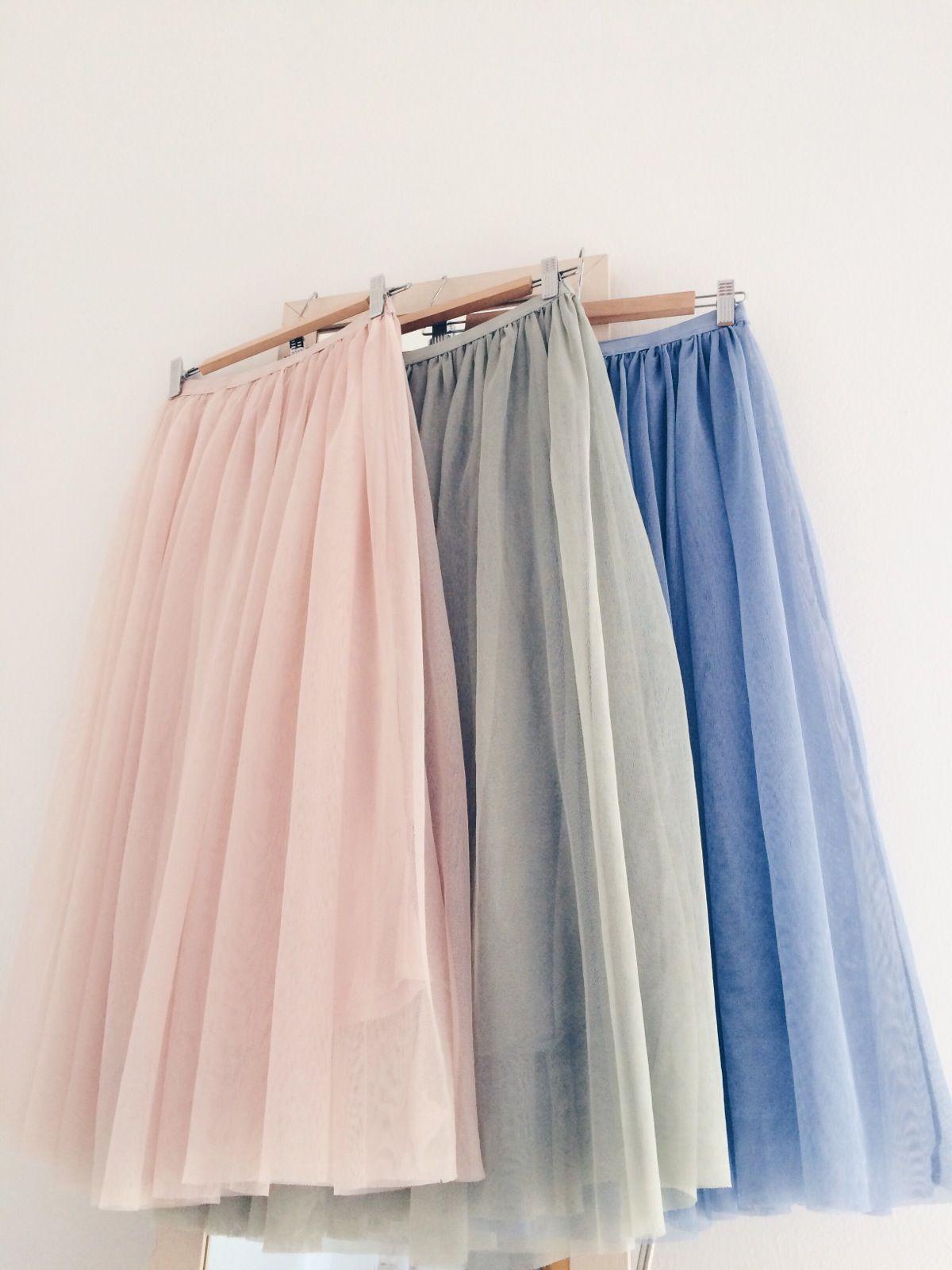 8d78c074c0 Una falda de tul en un color bonito
