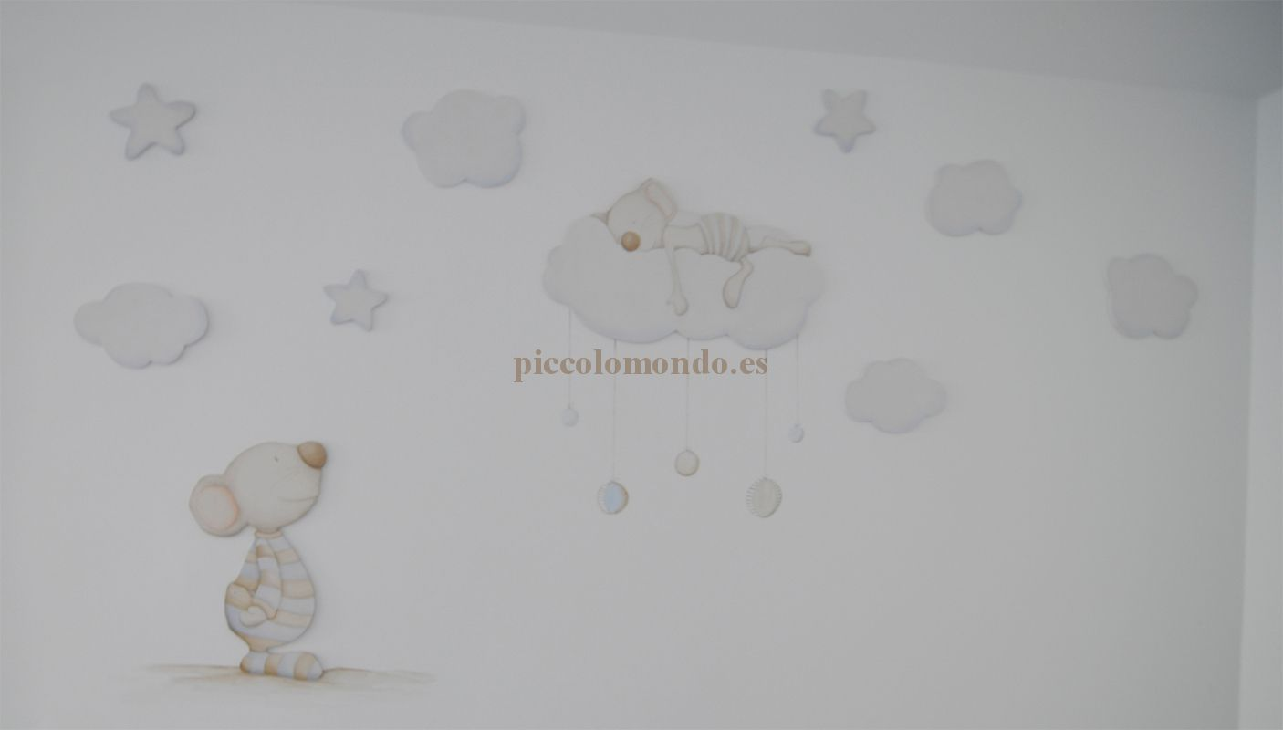 Alejandra Prat ha escogido en Piccolo Mondo la colección CONTEMPORÁNEO para decorar las habitaciones infantiles de sus hijos.