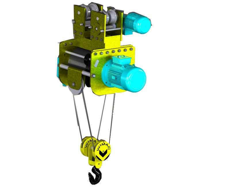 monorail hoist features, monorail hoist crane, electric wire rope ...