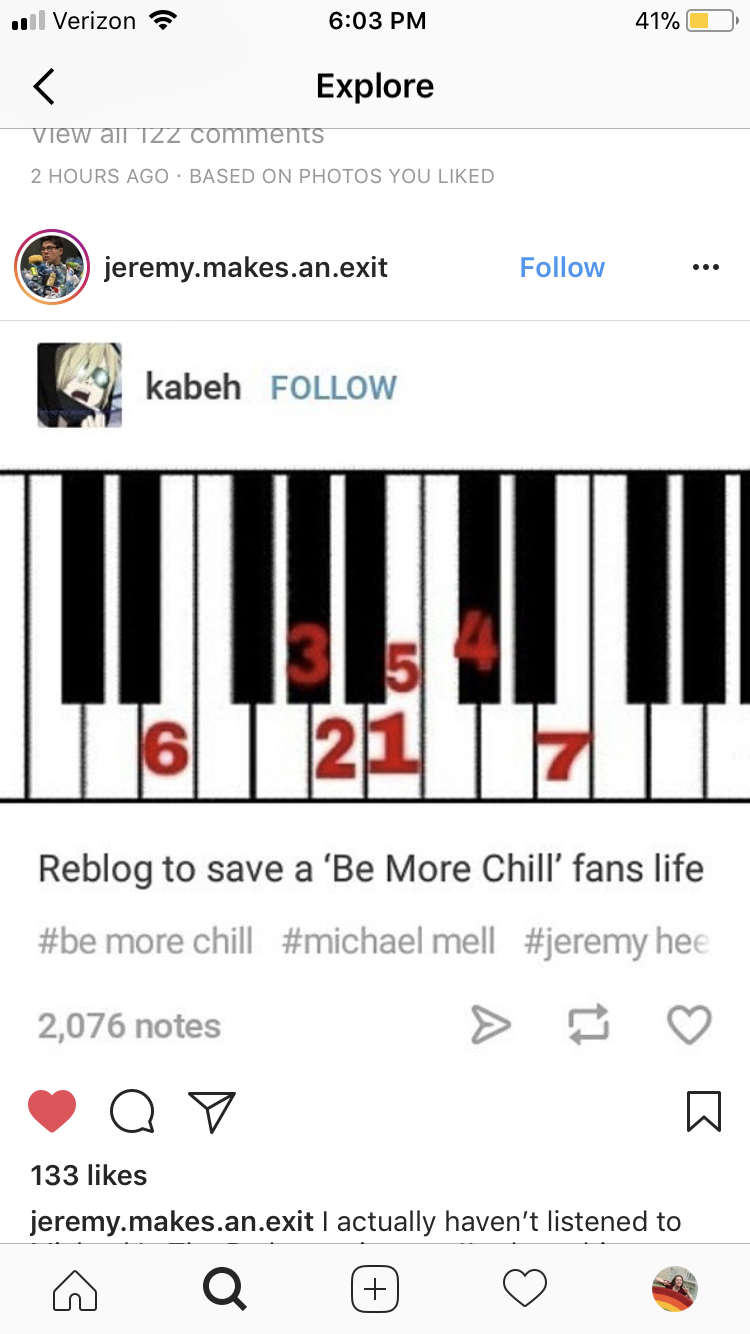 G O D B L E S S Be More Chill Michael In The Bathroom Be More Chill Musical